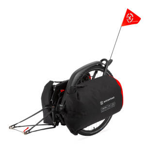 "Bicycle trailer Extrawheel BRAVE 28"" Drifter bags 100L"
